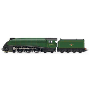 Hornby R3980 Class W1 Hush-Hush 60700 Streamlined BR Lined Green with Late Crest