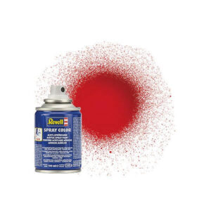 Revell 34131 Acrylic Gloss Fiery Red RAL 3000 Spray 100ml