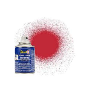 Revell 34136 Acrylic Matt Carmine Red RAL 3002 Spray 100ml