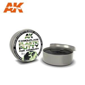 AK Interactive AK8076 Camouflage Elastic Putty