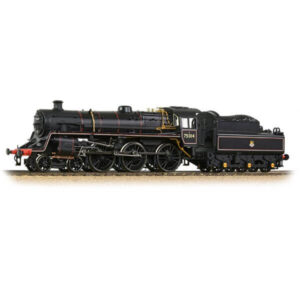 Bachmann 31-117 BR Class 4MT with BR2 Tender 75014 BR Lined Black with Early Crest