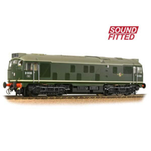 Bachmann 32-440SF Class 24/1 D5135 BR Green DCC Sound Fitted
