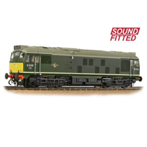 Bachmann 32-441SF Class 24/1 D5149 BR Green with Small Yellow Panel DCC Sound Fitted