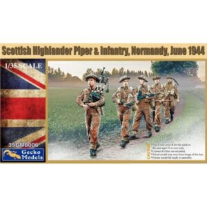 Gecko 35GM0006 Scottish Highland Piper & Infantry 1/35 Scale