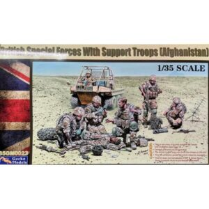 Gecko 35GM0023 British Special Forces With Support Troops 1/35 Scale