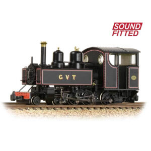 Bachmann 391-029SF Baldwin 10-12-D Glyn Valley Tramway Lined Black DCC Sound Fitted