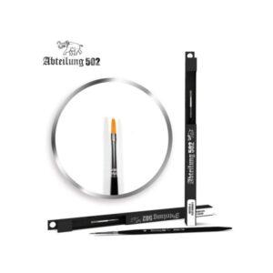 Abteilung 502 ABT835-4 Flat Brush 4