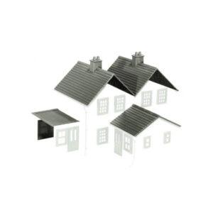 PECO LK-79 Building Kit 2 (Slate Roofs, Ridge Tiles, Flat Roofs, Chimneys)
