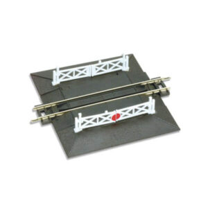 PECO Setrack ST-20 N Gauge Straight Level Crossing