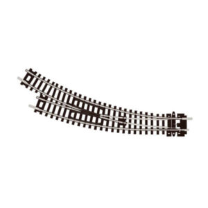 PECO Setrack ST-44 N Gauge Curved Point Right Hand