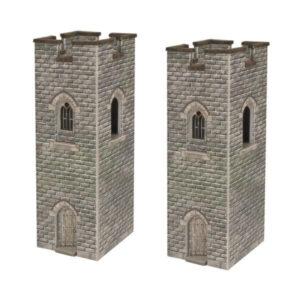Metcalfe Models PN192 N Gauge Castle Watch Towers
