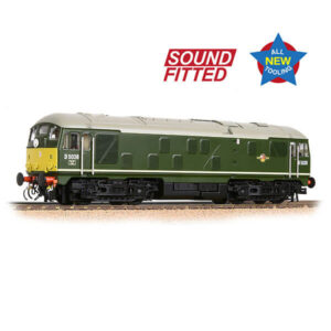 Bachmann 32-415SF Class 24/0 D5036 BR Green with Small Yellow Panel DCC Sound Fitted