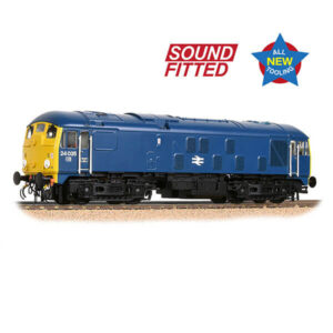 Bachmann 32-416SF Class 24/0 24035 BR Blue Disc Headcode DCC Sound Fitted