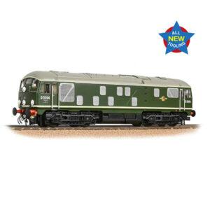 Bachmann 32-443 Class 24/1 D5094 BR Green Late Crest