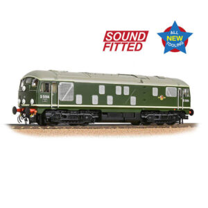 Bachmann 32-443SF Class 24/1 D5094 BR Green Late Crest DCC Sound Fitted