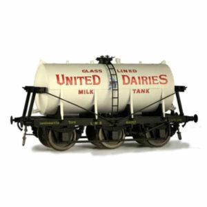 Dapol 7F-031-006 Wheel Milk Tank United Dairies