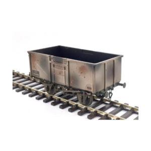 Gaugemaster 7410302 16T Steel Mineral Wagon BR Grey Weathered