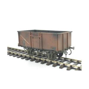 Gaugemaster 7410305 16T Steel Mineral Wagon BR Bauxite Weathered