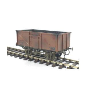 Gaugemaster 7410306 16T Steel Mineral Wagon BR Bauxite Weathered