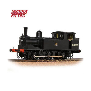 Bachmann 31-061SF LNER Class J72 Tank BR Black with Early Crest DCC Sound Fitted