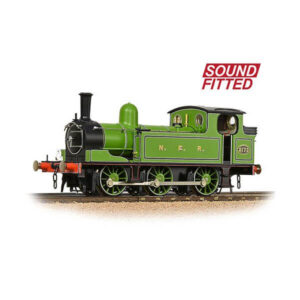 Bachmann 31-063SF LNER Class J72 Tank NER Lined Green DCC Sound Fitted