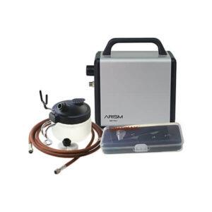 Sparmax Arism Mini Airbrush & Compressor Kit (Star Silver)
